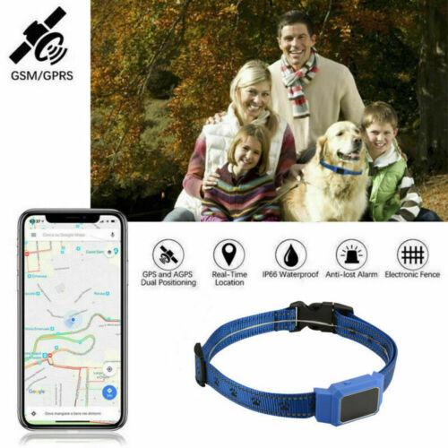 D35 Wasserdicht Haustier Halsband GPS Tracker Echt Zeit für Hund Katze+