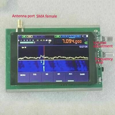 50KHz-200MHz DSP SDR Receiver Shortwave Radio Receiver Amate