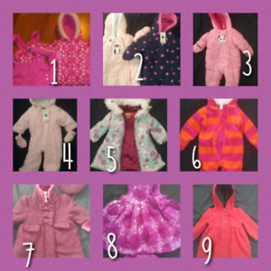 Toddler/Baby jackets and suits