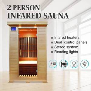 Luxury Carbon Infrared Sauna for 2 Persons (Product ID: 76463) Dandenong South Greater Dandenong Preview