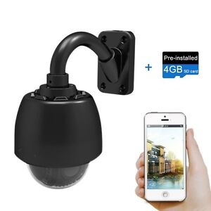 Outdoor Wi-Fi Video Surveillance Camera with Night Vision NEW!