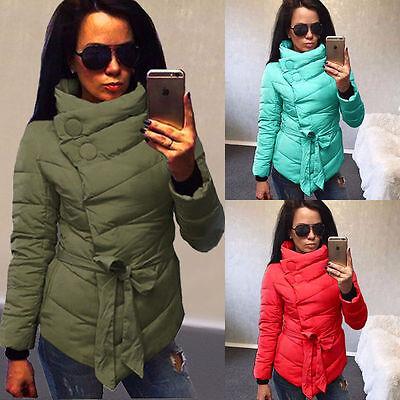 2017 New Winter Womens Down Jacket Long Coat Hooded Collar Warm Outerwear