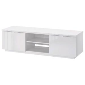 Ikea Byas high gloss white tv cabinet