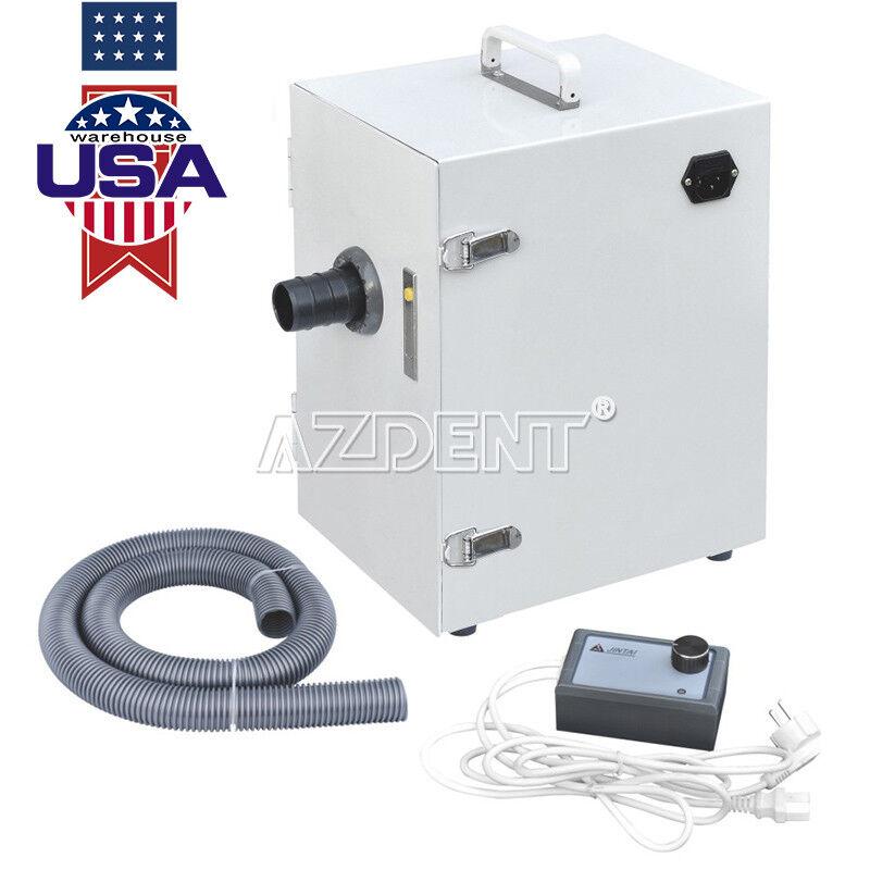 JT-26 Model Dental Lab Digital Single-Row Dust Collector Vacuum Cleaner USA 110V