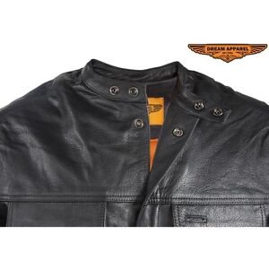 Mens Light Weight Leather Shirt With Short Sleeves Edmonton Edmonton Area image 2