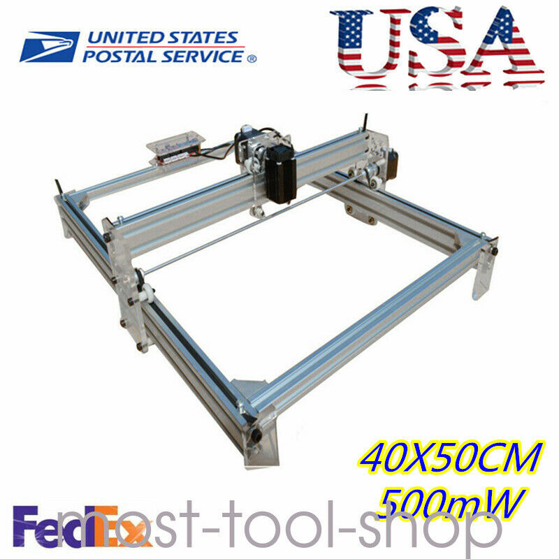 CNC ROUTER Mini Laser Engraver DIY Wood Milling Drill Carving Machine Kit 500mW