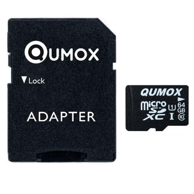 QUMOX 64GB MICRO SD SDXC 80MB/s CLASS 10 UHS-I 64 GB SPEICHERKARTE