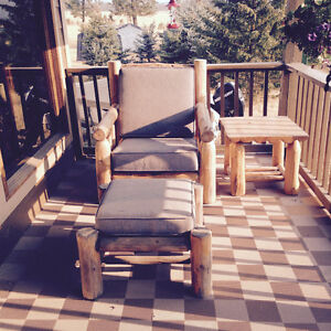 Log Furniture, Professionaly made