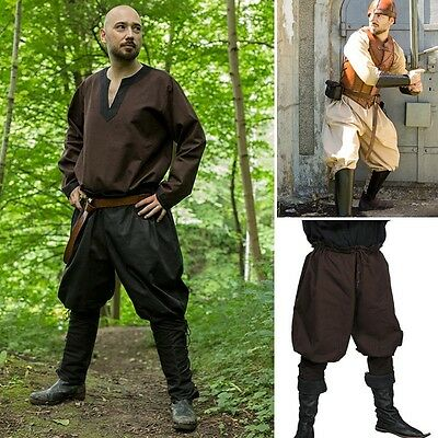 LARP Medieval Style Pants - 3 Colours - Ideal For Events