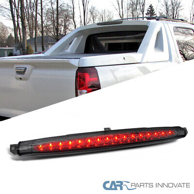 For Chevy 07-12 Avalanche LED Rear 3rd Third Brake Light Smoke Avalanche Rear Brake Light