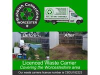 Worcestershire Rubbish Removals, Rubbish Collections, Junk Removals and Waste Disposal
