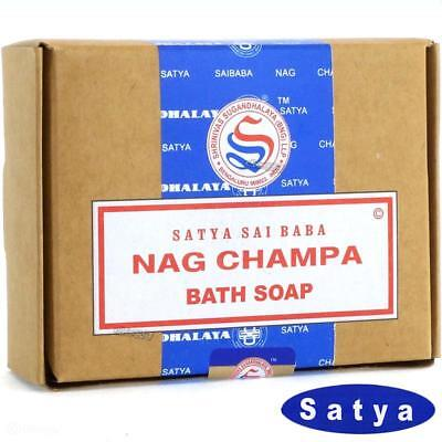 Nag Champa Pflegeseife Satya BNG Earth 1x 75g Beauty Soap Wellness Luxus Seife