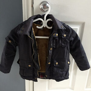 Zara size 3-4 Blue fall/spring jacket