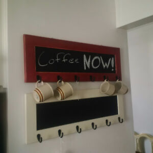 Coat Racks and Message Boards