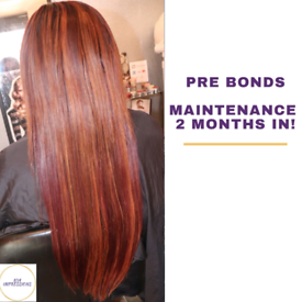 Hair extensions- weave, LA weave, micro rings, prebonds, tape ins, wig