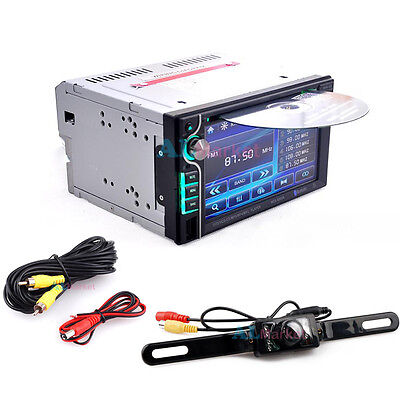 """Backup Camera+Double 2 Din 6.2"""" In Dash Stereo Car DVD CD Player Bluetooth Radio on Rummage"""