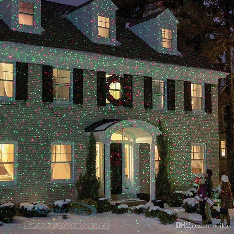 Christmas Projector Light LED Laser Landscape Outdoor Xmas L