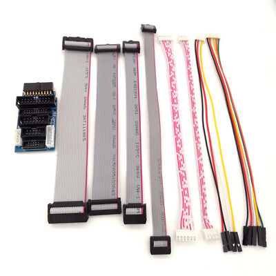 Jlink V8 V9 Adapter Plate Jtag To Swd Multi-function Support For Ulink2 Stlink V