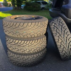 Winter Tires on Honda Rims Used only 20,000 kms