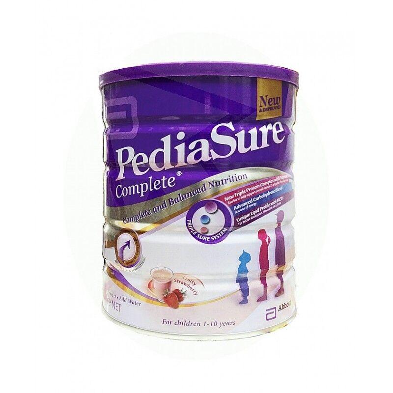 Pedia Sure~Strawberry Milk Powder~900 grams~Complete Balance Nutrition~ Quality