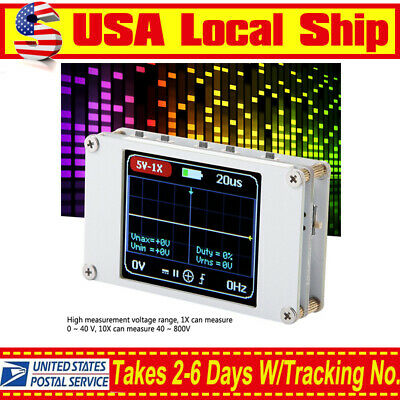 Dso188 Handheld Pocket Digital Oscilloscope W Probe 1m Bandwidth 5m Sample Rate