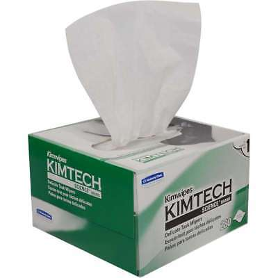 Kimtech Wipers - LOT OF 6 BOXES!!! KIMWIPES Kimwipe KIMTECH Delicate Cloth Task Wipers = 1680 Ct