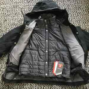 NEW Helly Hansen Steve Ski Shell/Insulator Combo