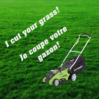 Grass Cutting in West Island - Coupe de Gazon Ouest de L'Ile