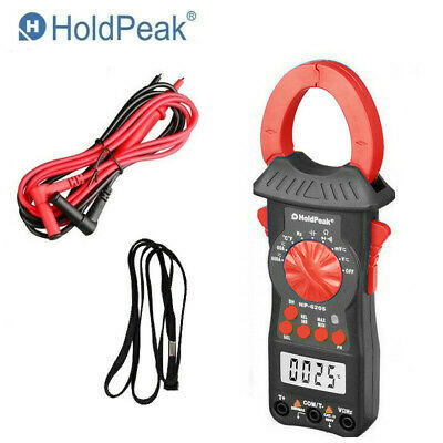 Digital Clamp Meter Multimeter Handheld Rms Acdc Mini Frequency 60m Ohm Temp