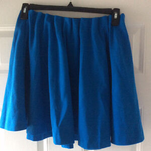 Knife Pleat Skirt by H&M, Blue