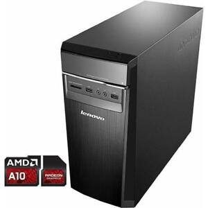 Lenovo H50 Desktop (AMD A10, 12 GB RAM, 2TB HDD, Windows 10) - Brand New