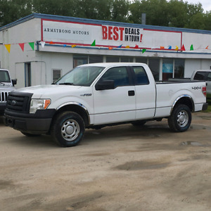 2011 Ford F -150 XL 4x4, 5.0L V8,Super Cab Pickup