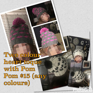 NEW handmade toques and scarves Comox / Courtenay / Cumberland Comox Valley Area image 4