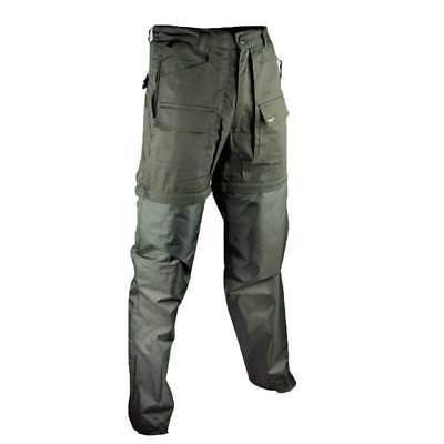 Pantalone pantaloni antivipera caccia deserto sportivo uomo sganciabile foderato