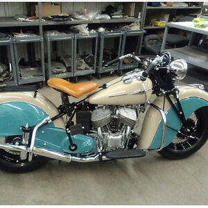 Looking for pre 1960 American motorcycles Moose Jaw Regina Area image 3