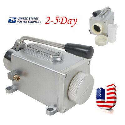 Useful Oil Pump Manual Oil Lubricator New Hand Operate Handle Lubrication Good