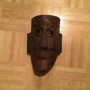 Tribal antique mask West Island Greater Montréal image 2