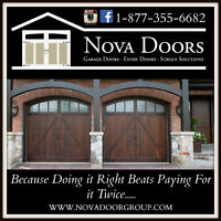 New Garage Doors. Reputable Brands Starting at $695. (Installed)