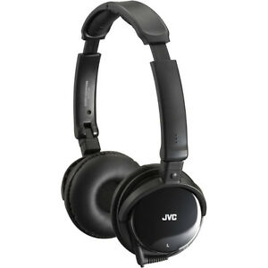 JVC HA-NC120 Noise-Canceling Headphones - New