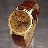 Transparent mechanical watch - New