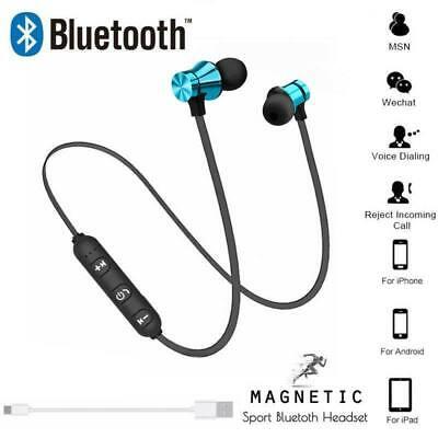 Sweatproof Wireless Bluetooth Earphones Headphones Sport Gym for iPhone iPad UK