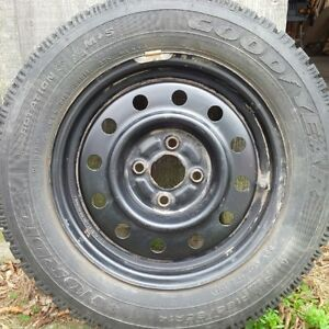 Winter Tires on Rims - New Condition