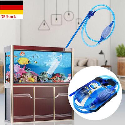 Large Aquarium Fish Tank Instant Siphon Cleaner / Vacuum for Gravel and Sand