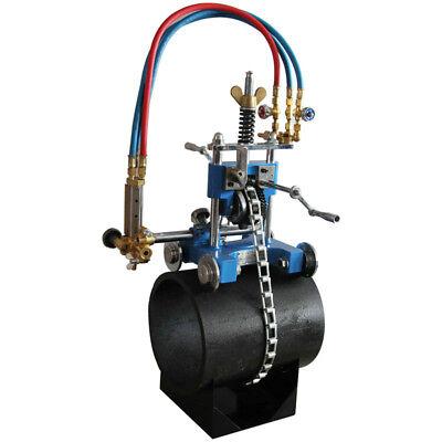 Techtongda Gas Cutting Machine Manual Pipe Cutting Beveling Machine
