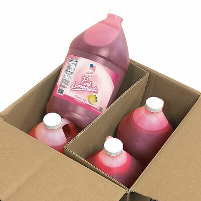 Pink Lemonade Slushee Frozen Drink Mix -4 Gallon - Drink Mix Pink Lemonade