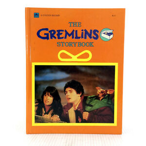 The Gremlins Storybook Hardcover Golden Book 1st Edition 1984