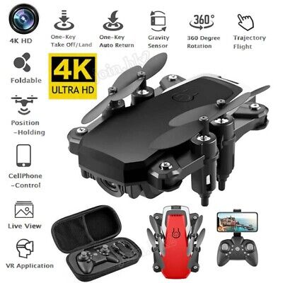 Foldable RC Drone Quadcopter 2.4G HD 4K Camera WIFI Quadcopter Altitude Hold