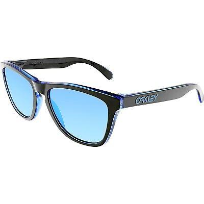 Oakley Men's Frogskins Eclipse OO9013-A9 Black Square Sunglasses