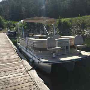 2008 Harris Floatbote pontoon