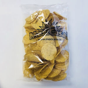 MEXICASA NACHO CHIPS - BULK - 6 X 1LB/CASE
